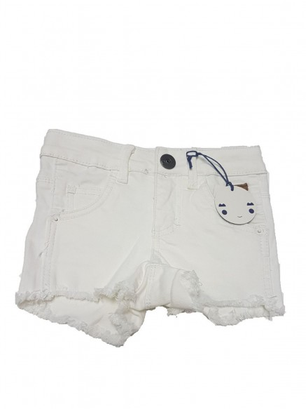 SHORTS DENIM ELASTICIZZATO...