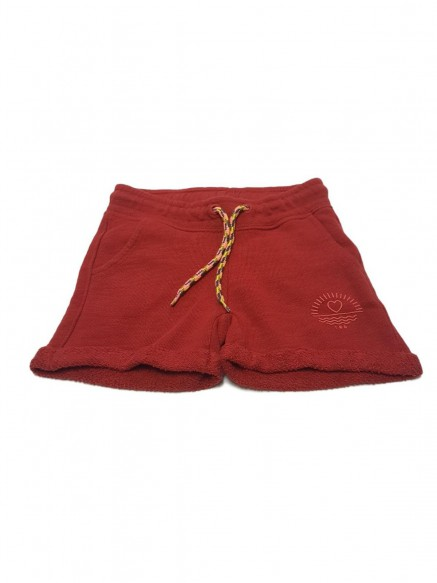 SHORTS BIMBA IN FELPA DI...