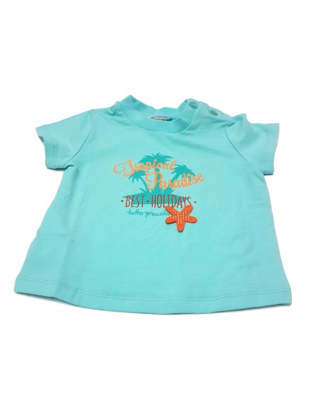 T.SHIRT BABY COTONE  TROPICAL