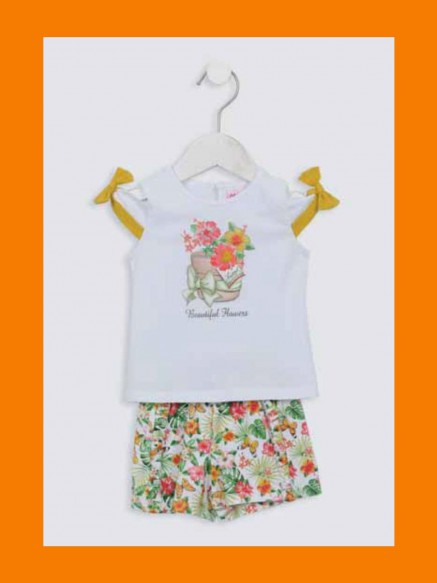 COMPLETO BABY SHORTS +...