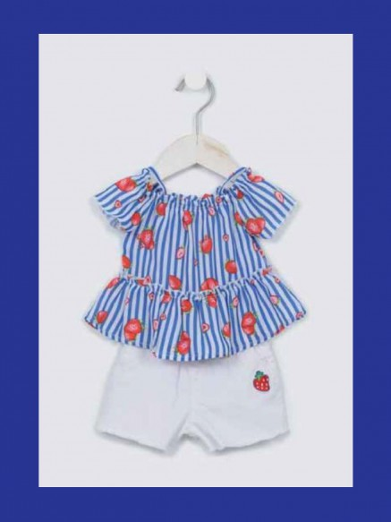 COMPLETO BABY SHORTS + TOP...