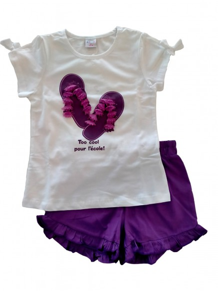 COMPLETO T.SHIRT+SHORTS...