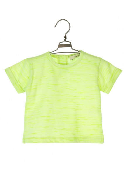 T.SHIRT JERSEY OLIVE FLUO