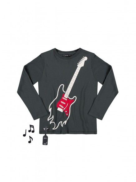 T.SHIRT MUSICALE AIR GUITAR...